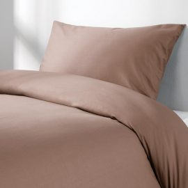 polycotton spectrum duvet fitted flat valance pillow mocha