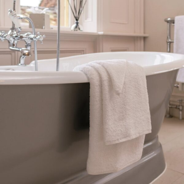 luxury Henley Guest Towels and Bath Mats