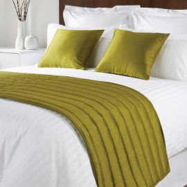 Comfort Simplicity Lime Runners and Cushions