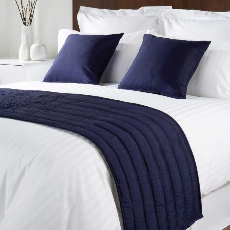Comfort Simplicity Navy Runners and Cushions