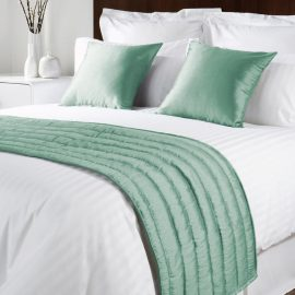 Comfort Simplicity Sea Green Runners and Cushions