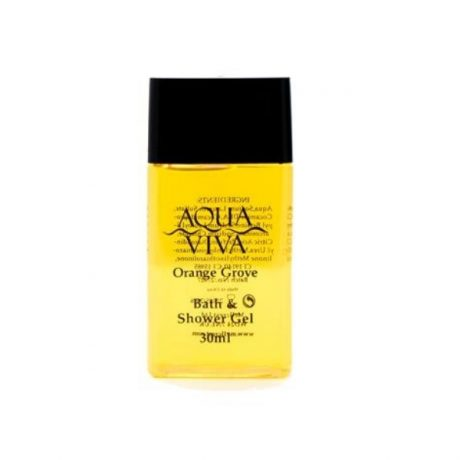 Aqua Viva 30ml Bath Shower Gel Orange Grove