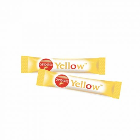 Canderel Yellow Low Calorie Sweetener Sticks