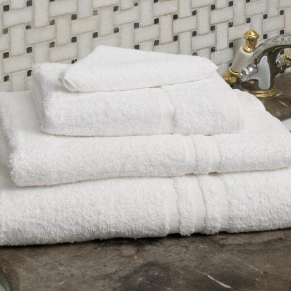 Essentials Capri Mats and Towels White