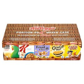 Kelloggs Cereal Portion Pak Mixed Case