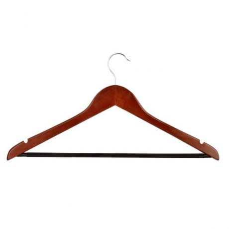 Mahogony Hanger Hook and Bar