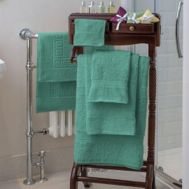 Essentials Nova Bath Mats And Towels Mint
