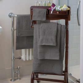 Essentials Nova Bath Mats And Towels Slate