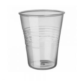 Disposable Plastic Tumblers Unwrapped