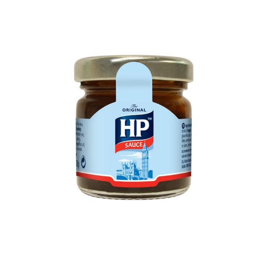 Heinz Hp Sauce Mini Jars Guest Hospitality Hotel Supplies