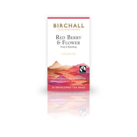 birchall red berry and flower tea