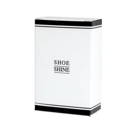 Black and White Shoe Shine Kit