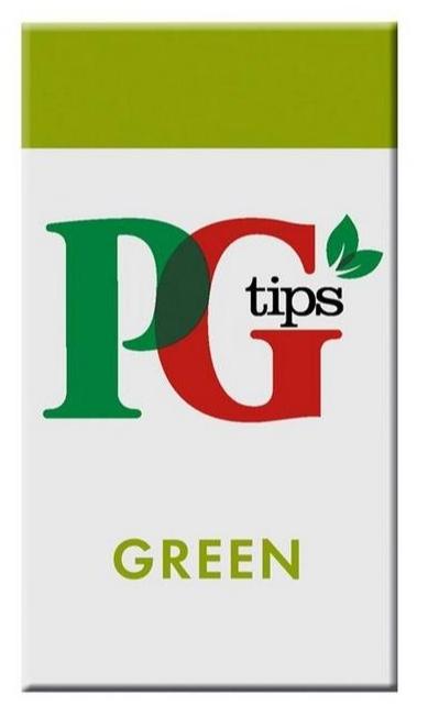 PG Tips Enveloped Green Tea