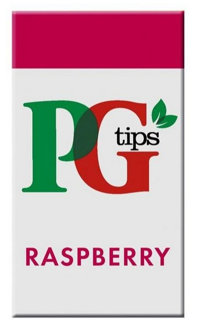 PG Tips Raspberry Enveloped Tea