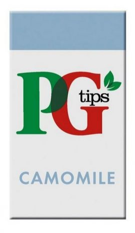 PG Tips Camomile Enveloped Tea