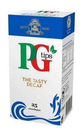 PG Tips Enveloped Decaff Tea