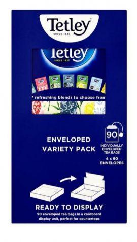 Tetley Enveloped Variety Teas