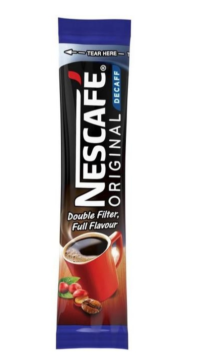 Nescafe Decaffinated Coffee Sticks