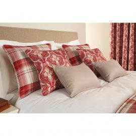 Luxury Chatsworth Cushion Claret