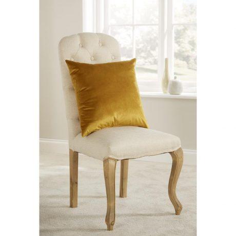 Comfort D'Arcy Unpiped Cushion Saffron