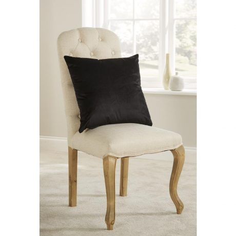 Comfort D'Arcy Unpiped Cushion Black