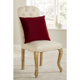 Comfort D'Arcy Unpiped Cushion Burgundy