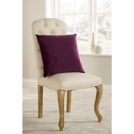 Comfort D'Arcy Unpiped Cushion Purple