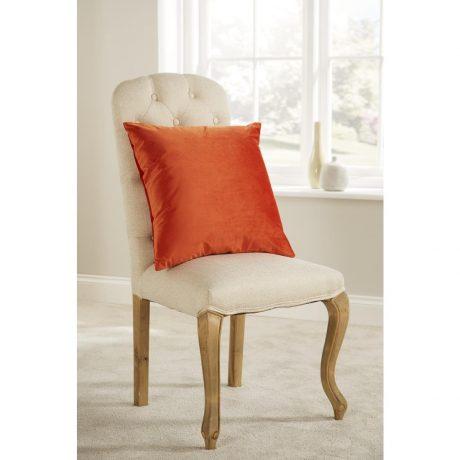 Comfort D'Arcy Unpiped Cushion Orange