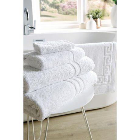 Eco Towel Range pattern by bath