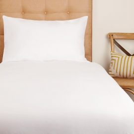 Eco Organic Cotton Bed Linen (White)