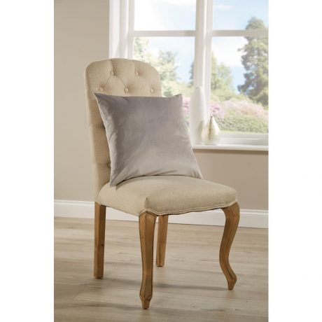 Comfort D'Arcy Unpiped Cushion Silver