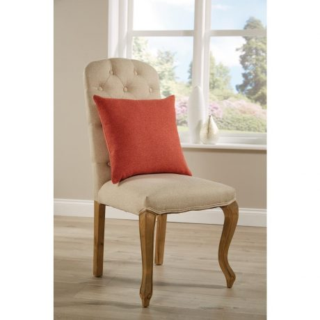 Comfort Kendal Unpiped Cushion Coral