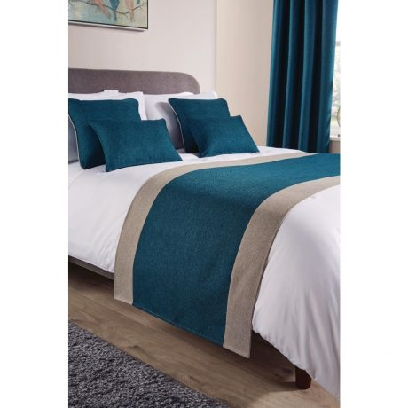 Comfort Tundra Teal Room Runners and Cushions