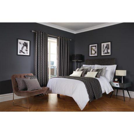 Luxury Deco Ebony Bedroom