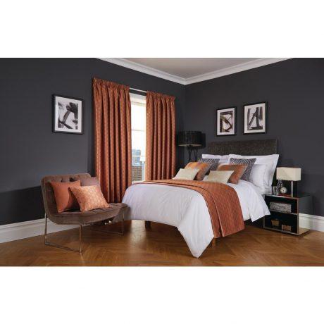 Luxury Deco Copper Bedroom