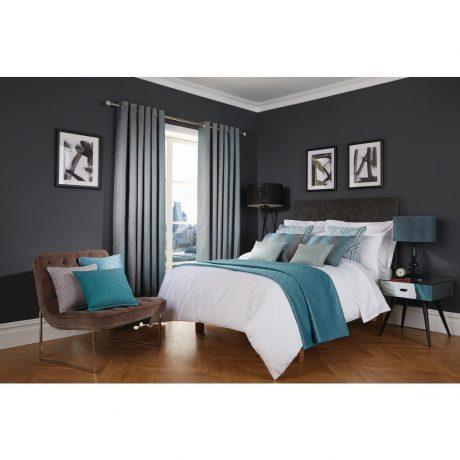 Luxury Deco Azure Bedroom
