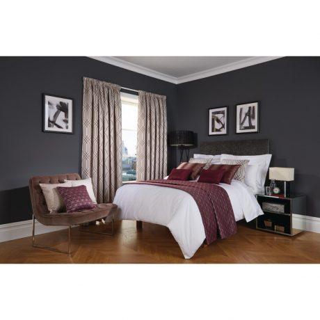 Luxury Deco Damson Bedroom