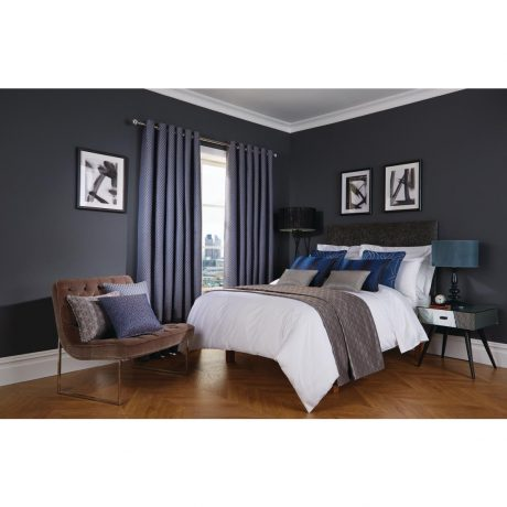 Luxury Deco Cobalt Bedroom