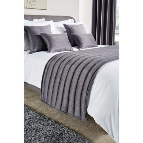 Simplicity Runners and Cushions Pewter