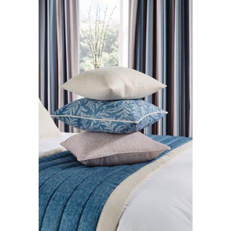New Luxury Fiorella Cushion and Runner Indigo