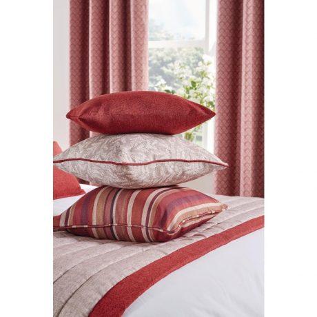 Luxury Fiorella Cushion Garnet