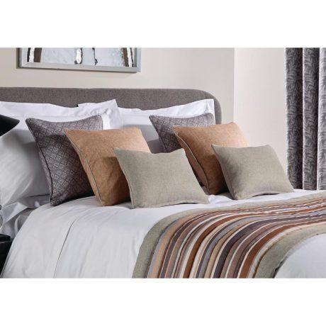 Luxury Fiorella Cushion and Runner Graphite