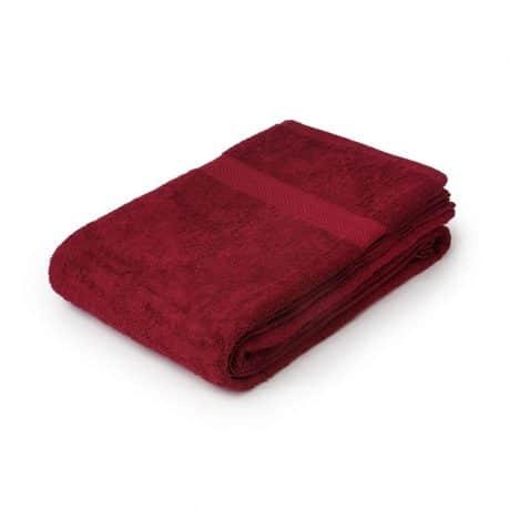 Essentials Nova Bath Mats And Towels Wine