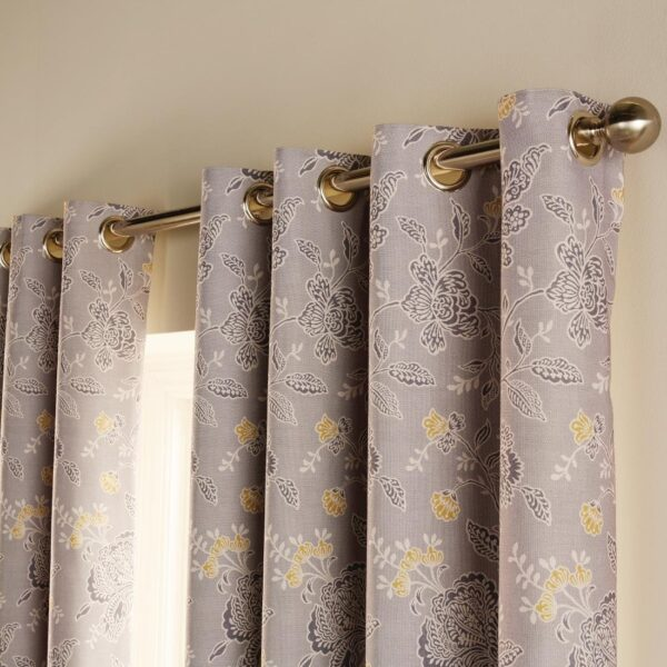 Luxury chatsworth curtains slate