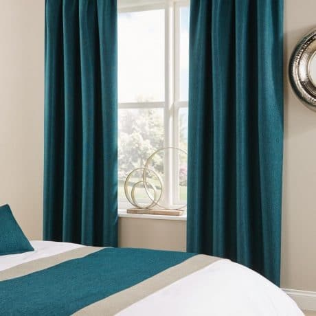 Tundra Curtains Teal