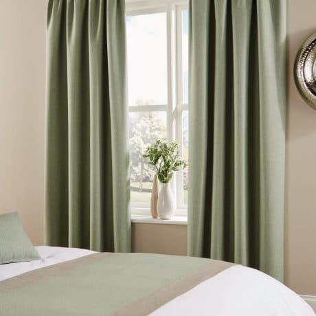Tundra Curtains Soft Mint