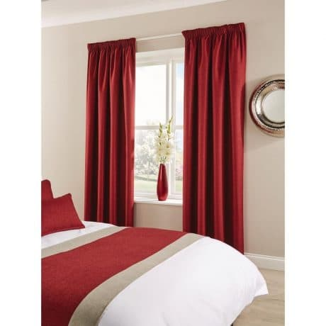 Tundra Curtains Bordeaux