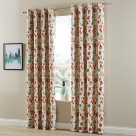 Essentials Moorehouse Curtains Ruby