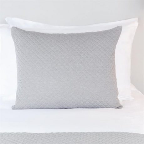 Essentials Quilted Waffle Cushion Cover Grey