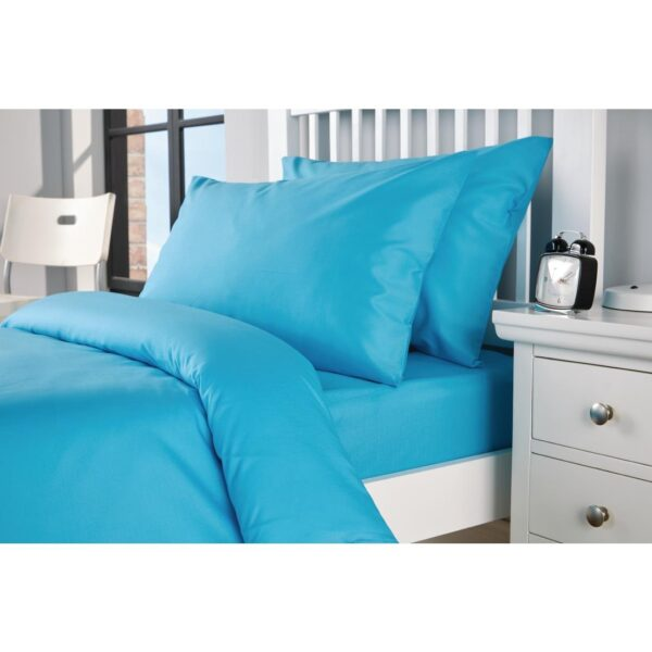 Spectrum Bed Linen Turquoise Pillow